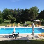 piscina sul retro