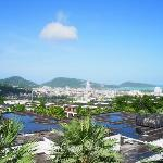 A really nice view of Patong city