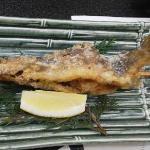 岩魚の唐揚げ
