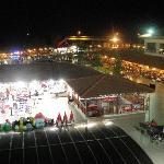 Main Pool and Bar at Night