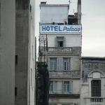 Back fassade of the hotel