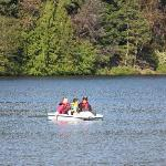 paddle boats free for half hour