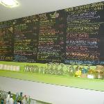 Big menu - lots of choices