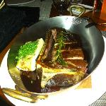 30-day Dry Aged Sirloin Steak & Roasted Bone Marrow