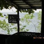 Cave entrance by the bar