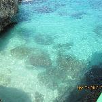 Beautiful Caribbean Sea, so blue