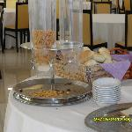 the breakfast buffet...after the young people  did have their meal