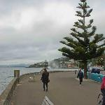 Clouds over Oriental Bay