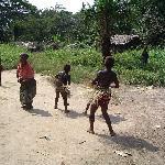 Pygmy village Dance