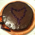 cioccolata e violette...indimenticabile