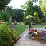 Beautiful walled gardens