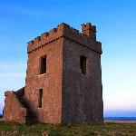 Tower on the Cliff walk Ardmore