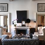 J.K. Fireplace room