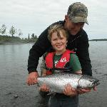 fun for all ages, 2 generations of fisherman