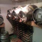 The reason we are renowned for our Real Ale... straight from the Cask! :-)