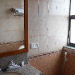 bathroom..small but adequate