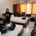 our deluxe room in xuan mai hotel