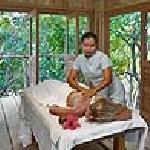 Spa treehouse treatment room