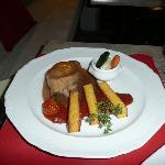Pork steak at Le Tour