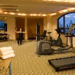 Exercise Room at the Edelweiss Spa