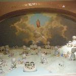 display in the chapel