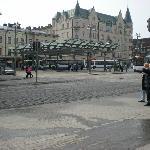 городская автобусная площадка