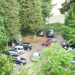 Parcheggio visibile dalla mia stanza