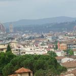 Vista della città dalla mia camera