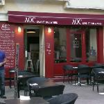 The restaurant exterior