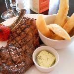 Rib eye steak...before!