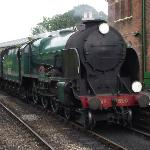 850 Lord Nelson at Ropley