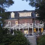 another view of the Inn in the evening