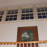 windows up on third floor