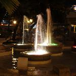 Fountains in town...