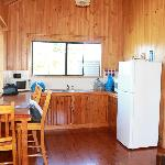 Kitchen in Cabin 1