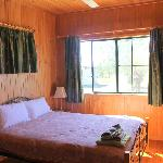 Bedroom in cabin 1