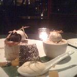 the dessert tasting plate (4 desserts)