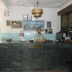 hotel reception &receptionest