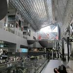 Kyoto Station - directly outside/adjacent to the hotel