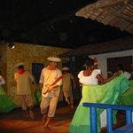 Folk dancing show