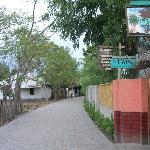 jalan menuju pondok twins garden