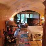 Habitación con amplitud y muy bella decoración