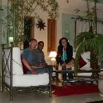 Avec Hammou, réceptionniste de nuit