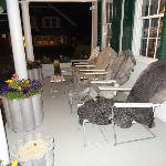 another outside view on porch
