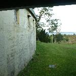View from prison cells to the beach