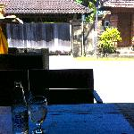 view from lillas warung