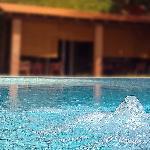 Swimming Pool and Bar entrance