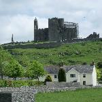 O'Brien Lodge and the Rock of Cashel