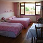 Family en suite bedroom
