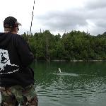 Fish on...!